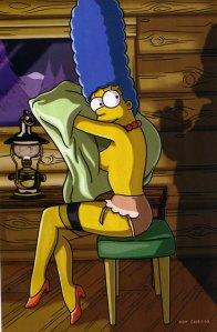 Marge Simpson en Playboy 01
